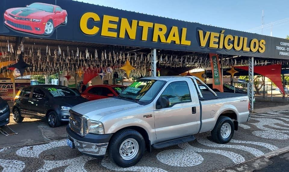 Ford F-250 XLT Motor MWM Turbo Diesel Ano 2001